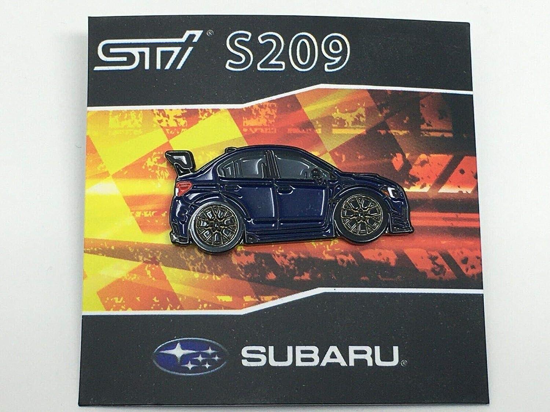 Subaru leen Customs Motorsports WRX STi Rally S209 Lapel Hat Pin Limited Rally Version