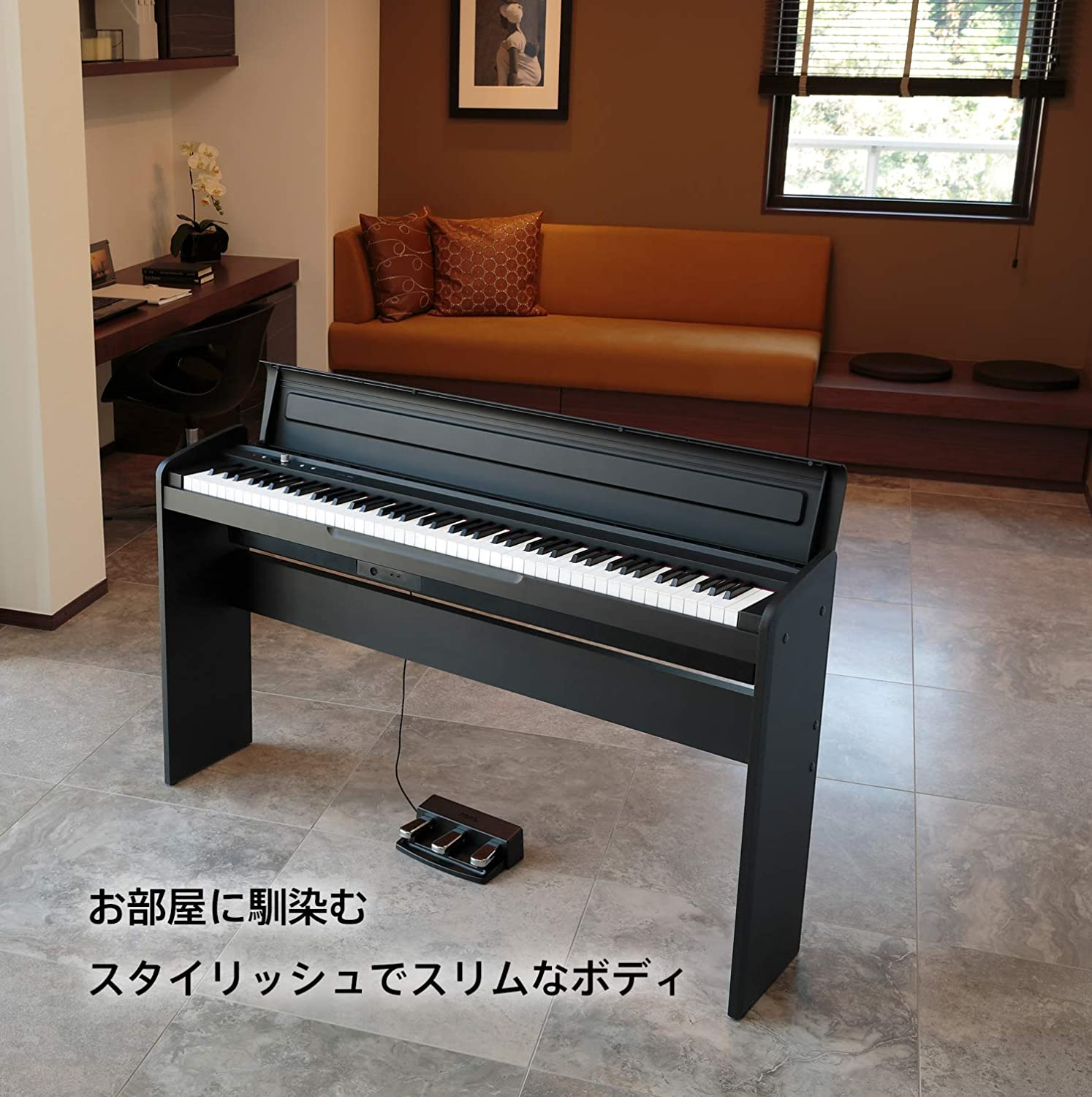 Korg LP-180-BK Electronic Piano: Amazon in: Musical Instruments