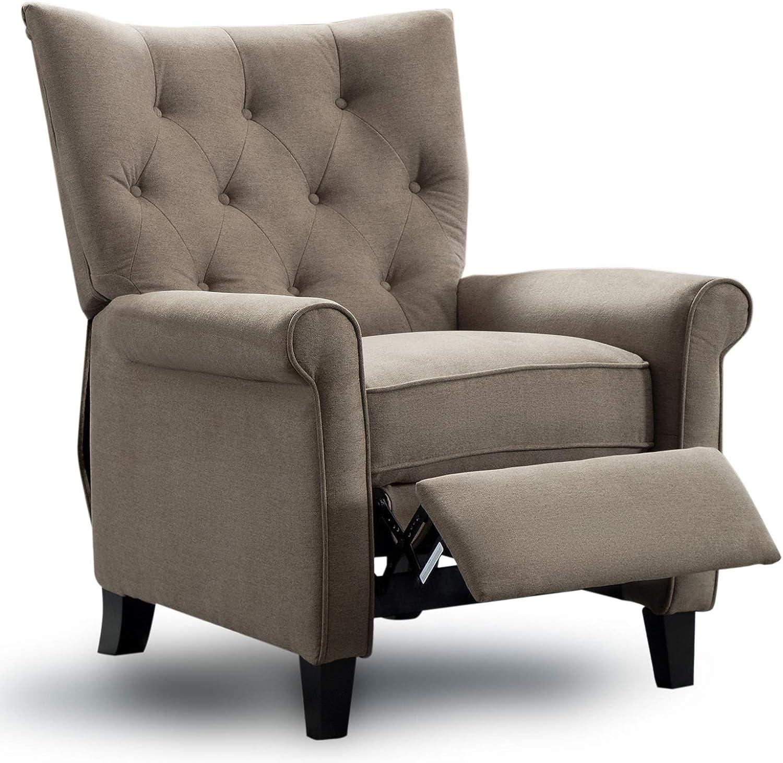 High leg recliner