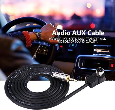 Autoradio AUX C/âble adaptateur pour lecteur CD Ai-Net DVA-9965R DVA-9860R etc. appareils UniLink compatibles avec DVA-7996R DVA-9861Ri