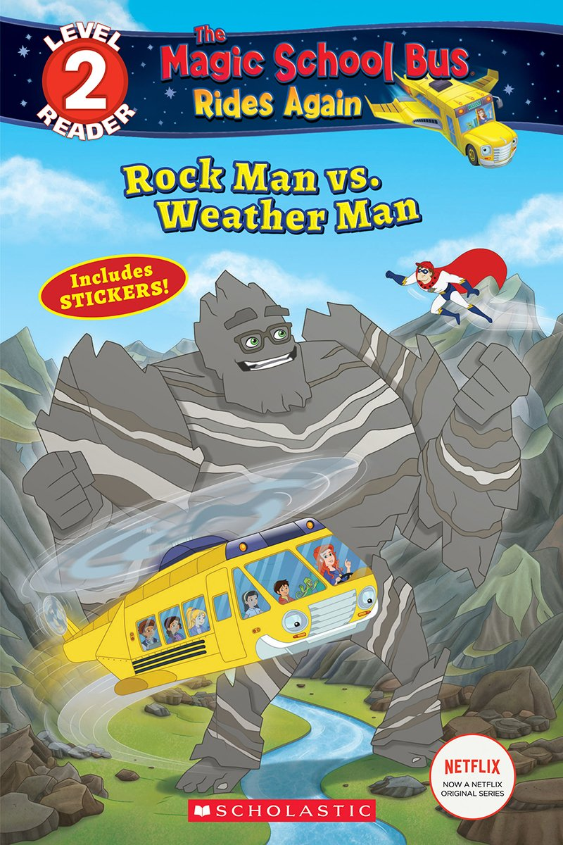Deep-Sea Dive The Magic School Bus Rides Again Scholastic Reader Level 2