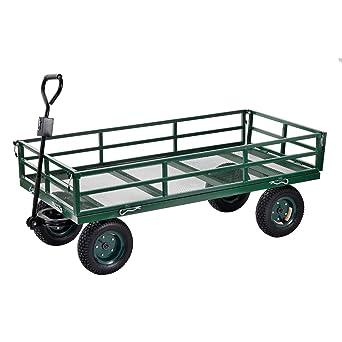 edsal Sandusky cw6031 Heavy Duty caja de acero Wagon, 635 kg capacidad, 1524 mm