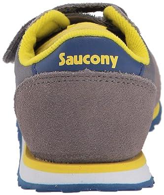 Saucony Baby Jazz HL GreyBlue, SL261033, Velcro,Bambino (21