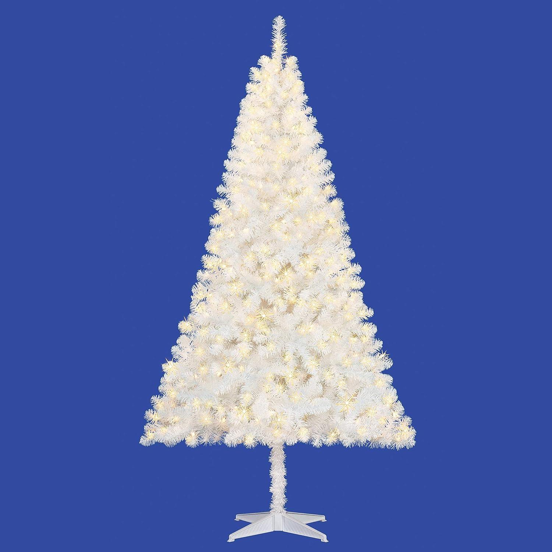 free shipping 3ffbd d62ea Amazon.com: 6.5 Ft White Christmas Tree - Artificial ...