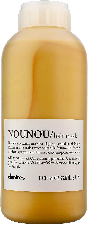 Davines Nounou - Mascarilla para el pelo (1000 ml): Amazon.es ...