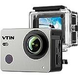 Actioncam WIFI 2,0 Zoll, VTIN wasserdichte 1080P 30fps FHD Sports Cam Action Kamera, mit 2.4 G Handgelenk Fernbedienung + 2 Verbesserten Batterien + Zubehör Kits
