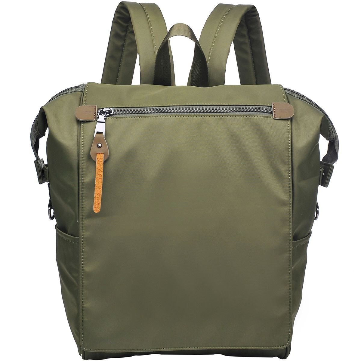 Urban Expressions Top Zip Yoga Backpack - Women's Olive/Olive, One Size