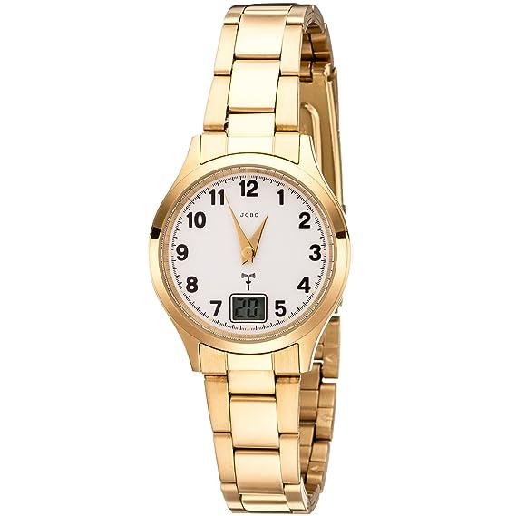 Jobo Mujer Reloj De Pulsera Two-Way Radio Reloj Acero ...