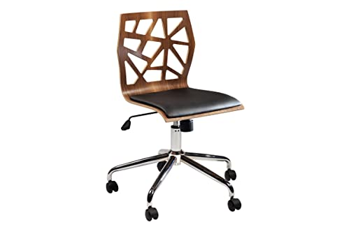 Ergonomischer bürostuhl holz  Bürostuhl Funky braun Rollstuhl Rollenstuhl Officestuhl Chefsessel ...