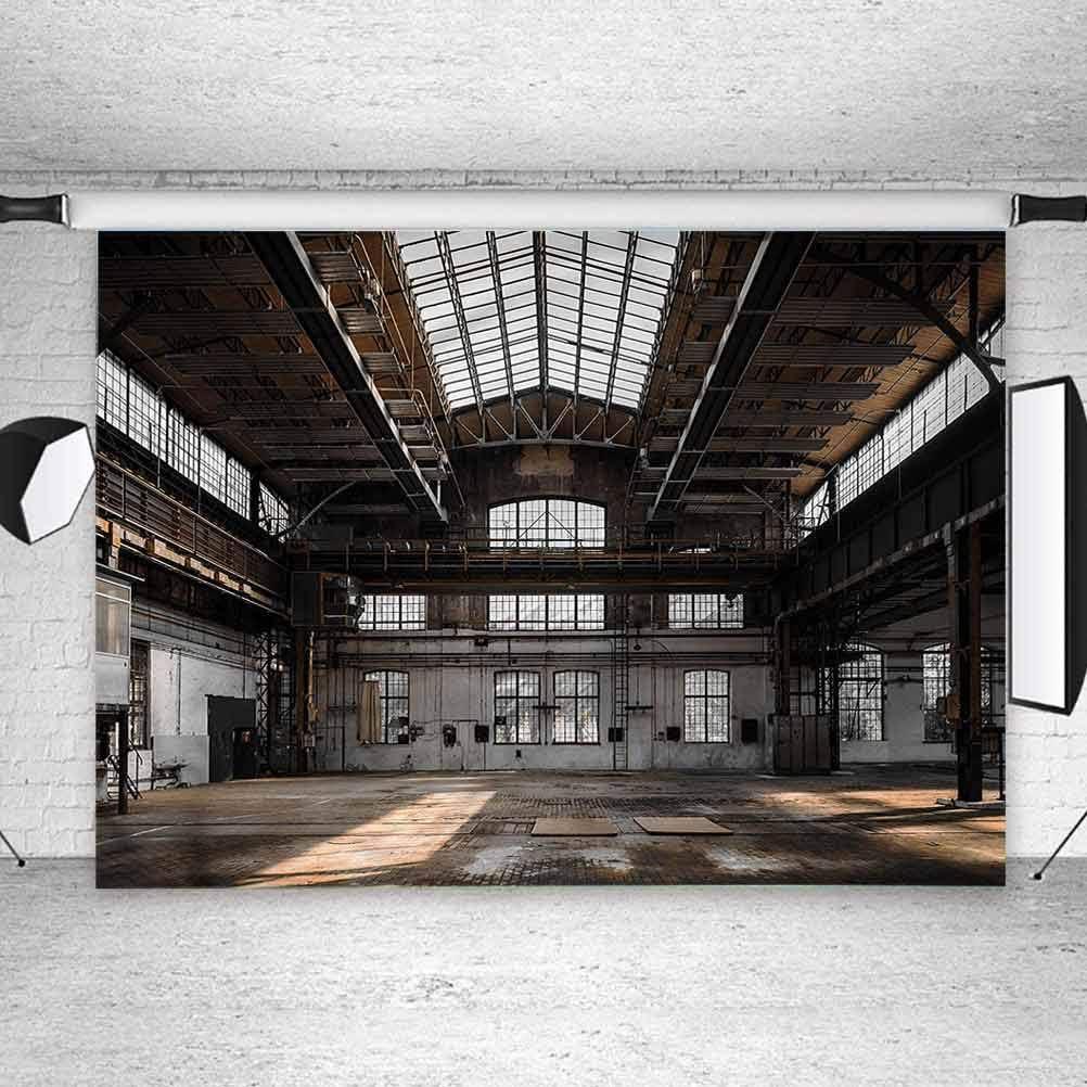 Amazon Com 6x6ft Vinyl Photo Backdrops Industrial Old Hangar Photoshoot Props Photo Background Studio Prop Camera Photo