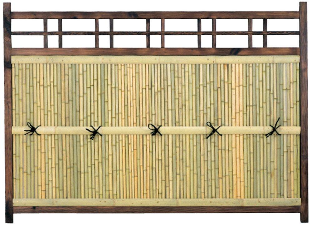 YATSUYA 目隠し竹フェンス 袖型 56856 B0033K3MW2 20800 袖型