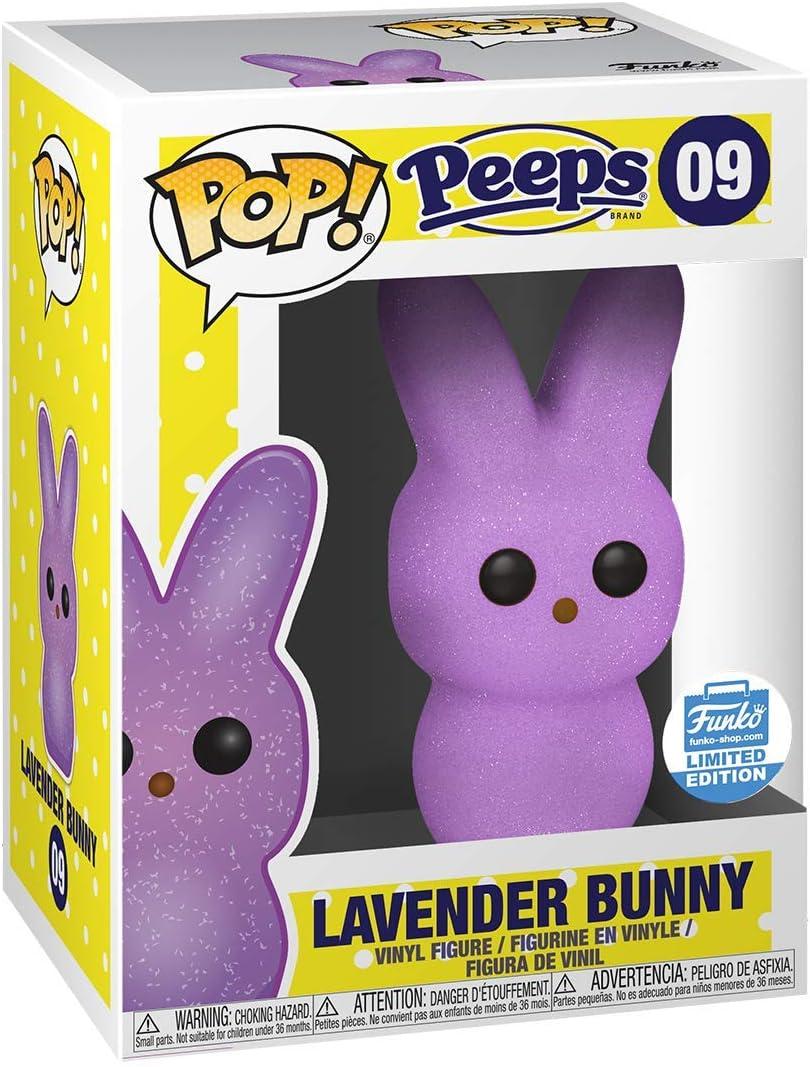 2019 Popcultcha Supanova Excl Lavender Bunny Pop Peeps Candy Vinyl Figure