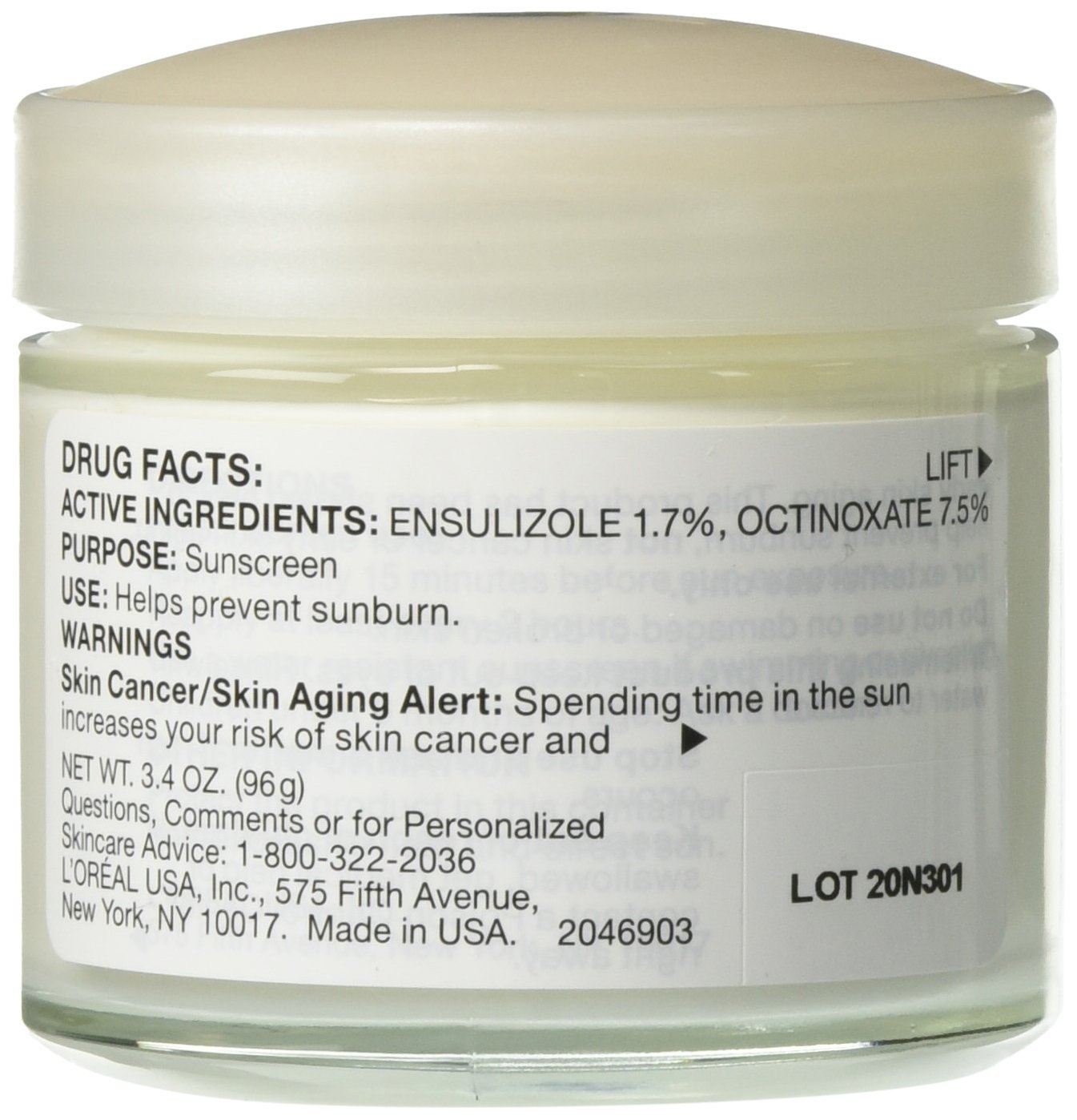 L'Oréal Paris Age Perfect Day Face Moisturizer SPF 15 to Firm Skin and Even Skin Tone, 3.4 fl. oz.
