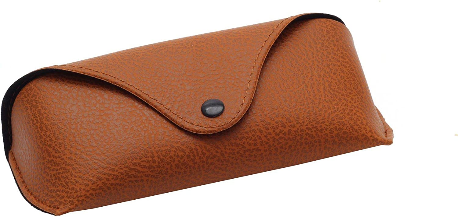 Faux Leather Eyeglasses Case