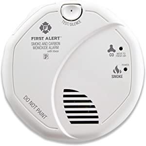 First Alert BRK SC7010B-12 Hardwired Smoke and Carbon Monoxide (CO) Detector with Battery Backup,12-Pack