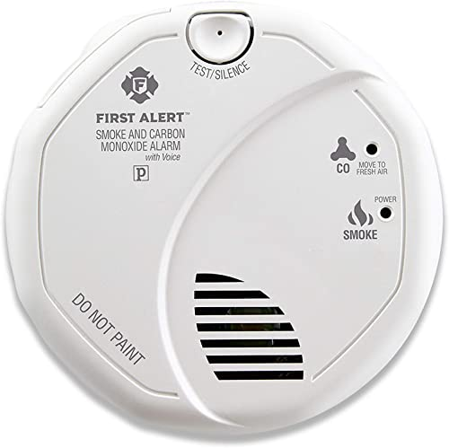 First Alert BRK SC7010B-12 Hardwired Smoke and Carbon Monoxide CO Detector with Battery Backup, 12-Pack