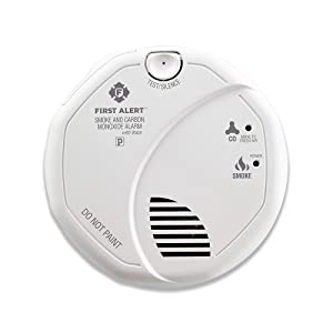 First Alert BRK SC7010B-6 Hardwired Smoke and Carbon Monoxide (CO) Detector with Battery Backup 6 Pack