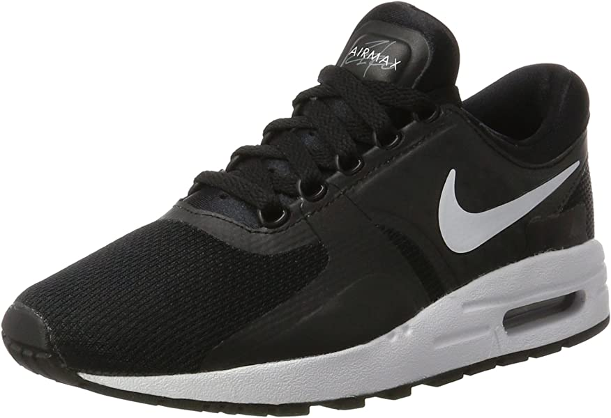 on sale 0d781 df30b Nike Big Kids Air Max Zero Essential (Gs) (Black White-Dark