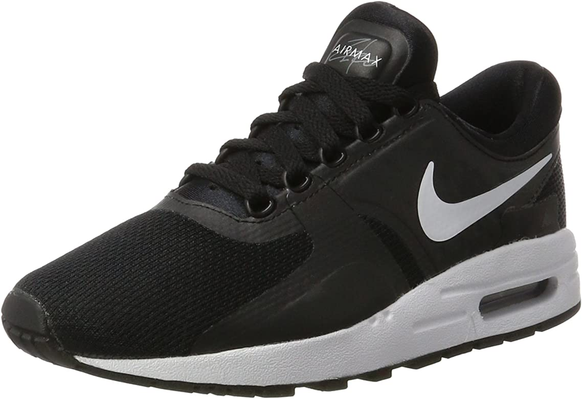 on sale c94bc 678bb Nike Big Kids Air Max Zero Essential (Gs) (Black White-Dark