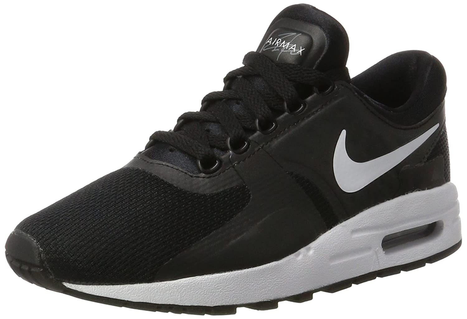 Nike  Air Max Zero Essential GS Running Shoe B06WP84XMG 7 M US Big Kid|Black/Dark Grey/White