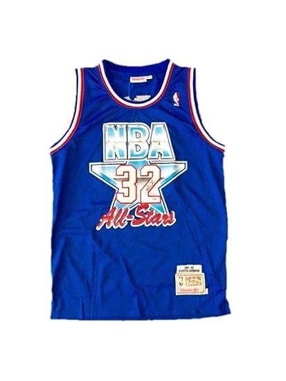 4cc157dd4e8 Magic Johnson Autographed Jersey - 1992 All Star - JSA Certified -  Autographed NBA Jerseys