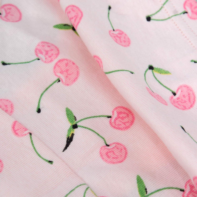 Gorlya 6-Pack Girls Soft Cotton Panty Cute Print Assorted Kids Underwear Briefs for 2-8Years