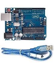 Placa UNO R3 profesional MEGA328P & ATMEGA16U2 con cable USB 100% compatible con Arduino