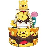 尿布蛋糕 小熊维尼 出生贺礼 男孩 女孩 2层 3001