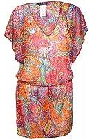 LAUREN Ralph Lauren Womens Maharaja Paisley Poolside Tunic Cover-Up