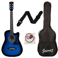 JUAREZ JRZ38C Right Handed Acoustic Guitar (Blue Sunburst, 6 Strings)