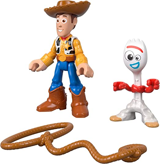 Imaginext - Disney Toy Story 4 Pack Aventuras Figuras Woody y Forky, Juguetes Niños +3 Años (Mattel GBG90): Amazon.es: Juguetes y juegos
