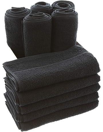 TowelsRus Toallas de peluquería Negro