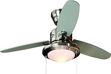 Hunter 24085 - Merced Ventilador En Níquel Cepillado: Amazon.es ...