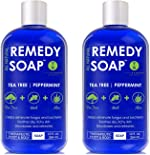 Remedy Soap Pack of 2, Helps Wash Away Body Odor, Soothe