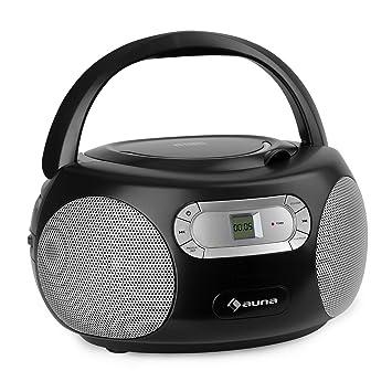 auna Haddaway CD minicadena - Reproductor de CD, Bluetooth ...