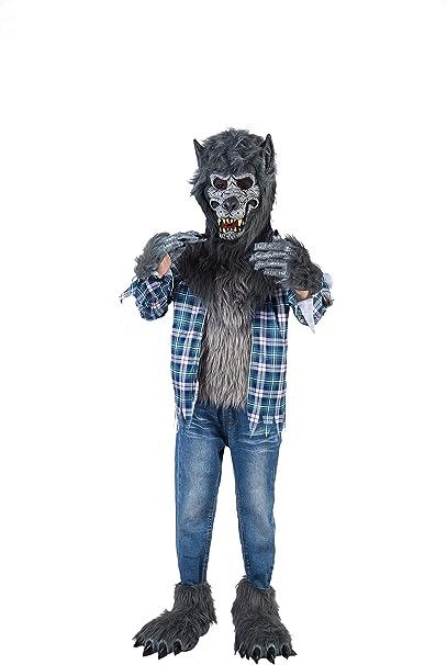 Amazon.com: Howling Werewolf Deluxe - Conjunto de disfraz ...