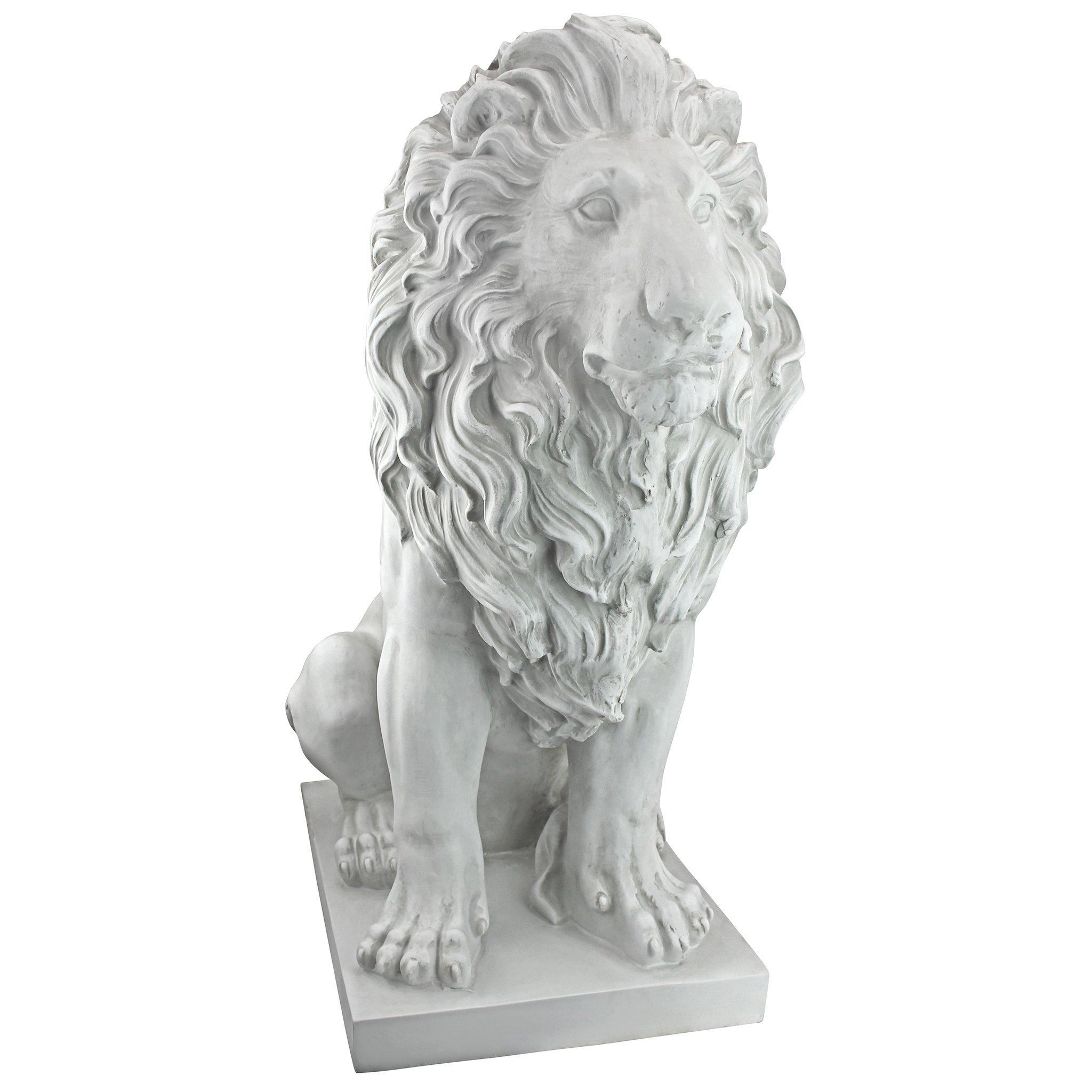 Design Toscano KY71134 Lion of Florence Statue