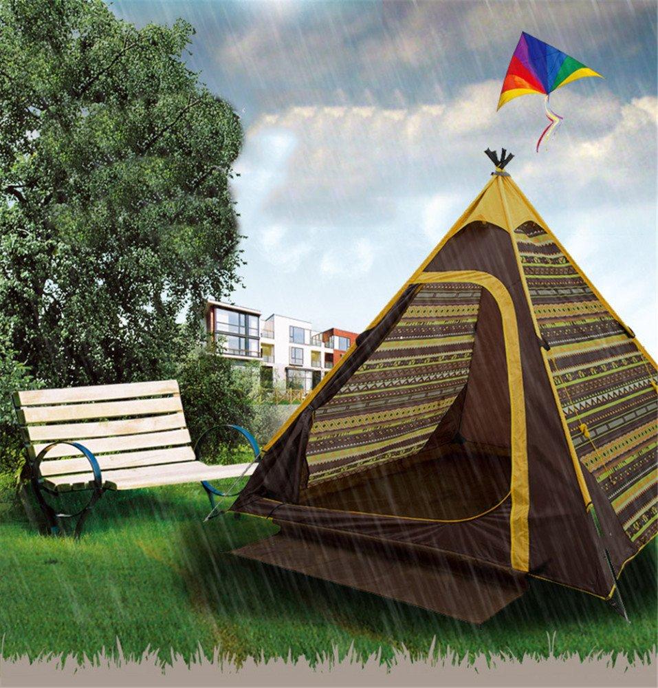 Kaxima Wind und Regen Prävention Camping Familienzelt