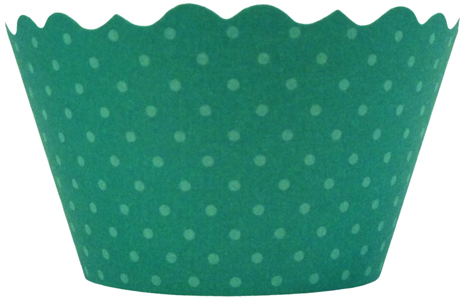 Bella Cupcake Couture Cupcake Wrappers, 12-Pack, Emerald Green 856863003135