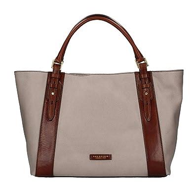Großhandelspreis beste website schnüren in The Bridge 0411582F Shopper Tasche Damen hellbraun UNICA ...