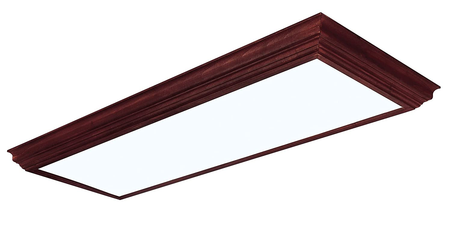 Lighting by AFX CCM432R8 Winchester Crown Molding Wood Frame 4-Lamp ...