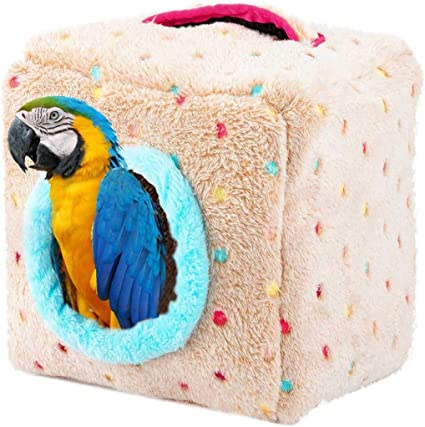 Birds Sleeping Hanging Large Cages Accessories Warm Hamster Nest Birdhouse