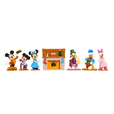 Holiday Figurine Collection Mickey's Christmas Carol: Toys & Games