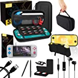 Orzly Switch Lite Accessories Bundle - Includes Carry case & Screen Protector for Nintendo Switch Lite Console (2019…