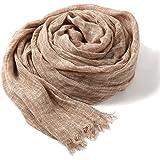 大判ストール シャンブレー 2色使い ビスコース ガーゼ 柔らか ふんわり UV対策 冷房対策 男女兼用