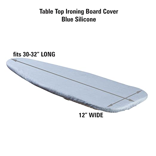 Good Amazon.com: Household Essentials Replacement Cover For Tabletop Small Ironing  Boards, Blue Silicone Coated: Home U0026 Kitchen