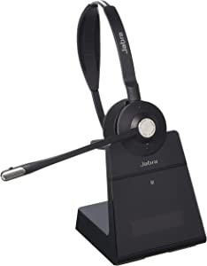 Jabra Engage 75 Wireless Headset, Mono – Telephone Headset with Industry-Leading Wireless Performance, Advanced Noise-Cancelling Microphone, All Day Battery Life