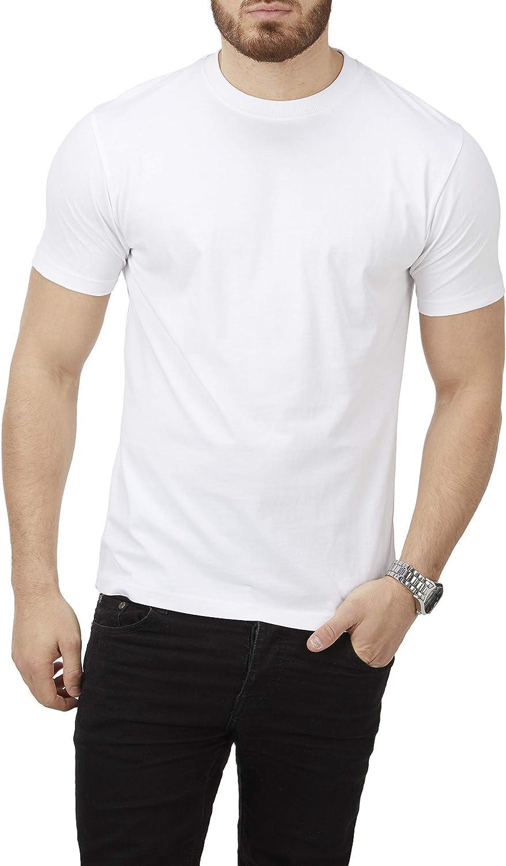 Charles Wilson Paquete 4 Camisetas Cuello Redondo Lisas