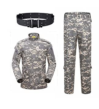 KYhao - Traje táctico Militar de Camuflaje para Hombre, Caza ...