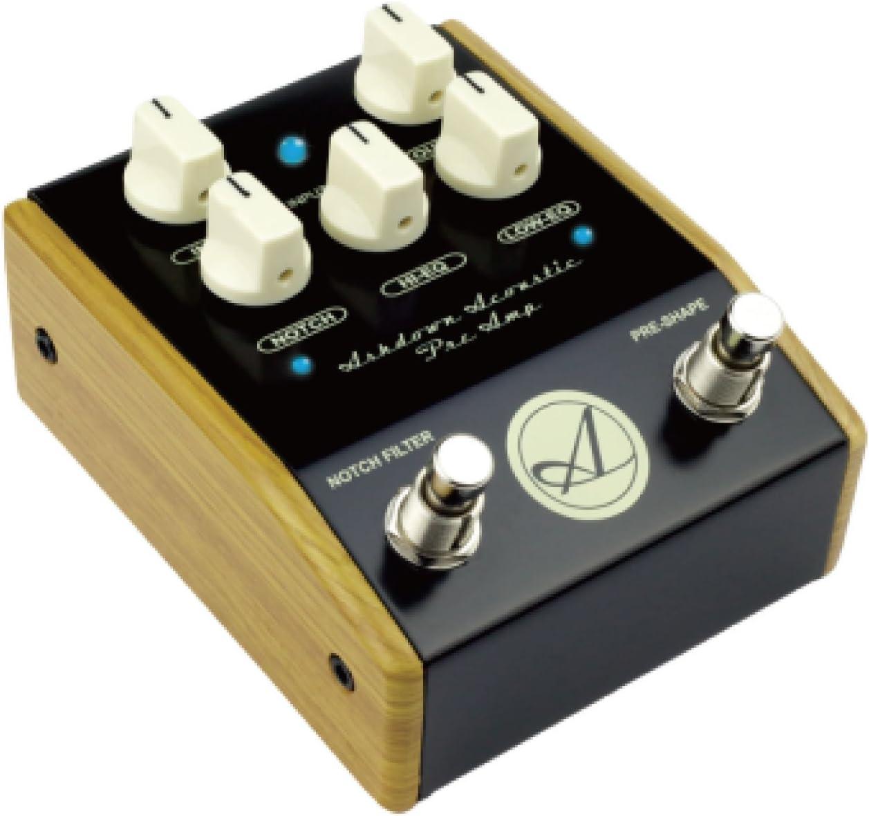 Ashdown AA-PEDAL - Pedal preamplificador para guitarra acústica: Amazon.es: Instrumentos musicales